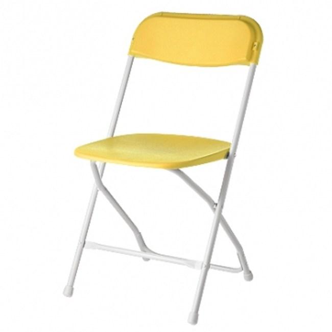 icandy耐衝擊折疊椅-黃色