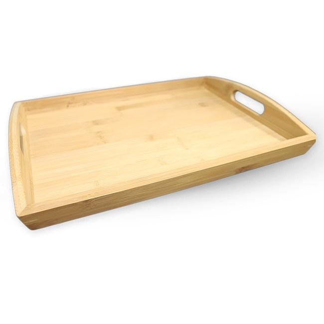 竹之美 炭化竹托盤 39x27cm