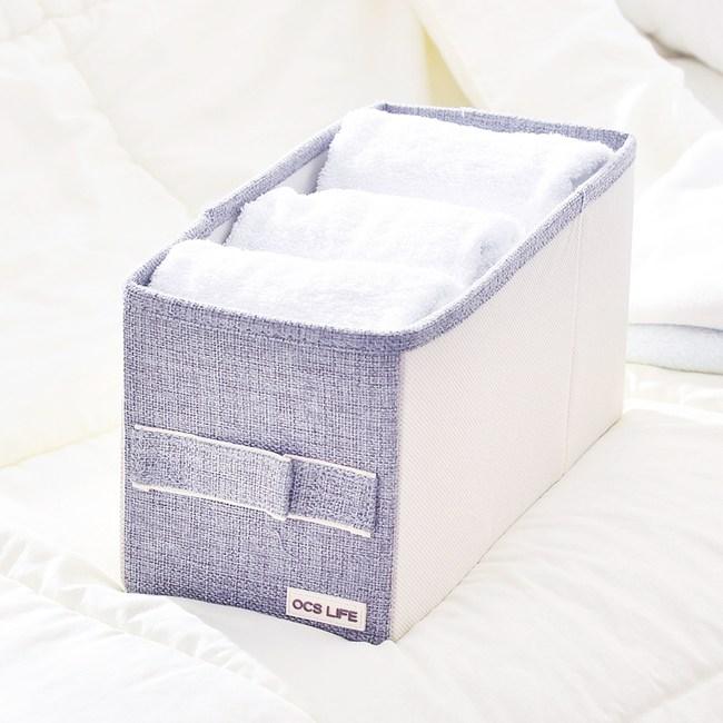 日式布質衣物收納袋-(灰)小