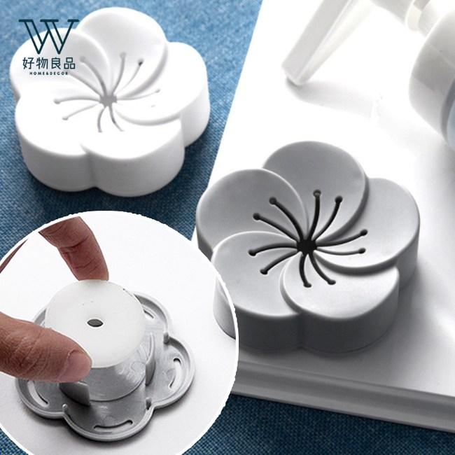 【好物良品】花朵造型衣櫃衛浴香薰除味盒-香薰片補充包_12入補充包_古龍味_12入