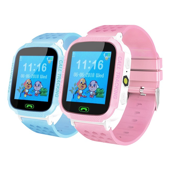 IS愛思 GW-08 PLUS 定位關懷觸控螢幕兒童智慧手錶酷炫藍