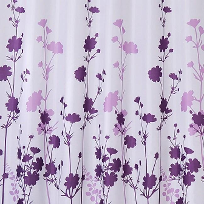 特多龍浴簾-仙女花
