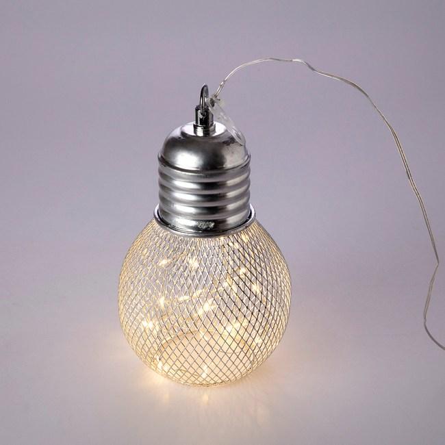30燈LED網罩燈泡造型燈-銀色