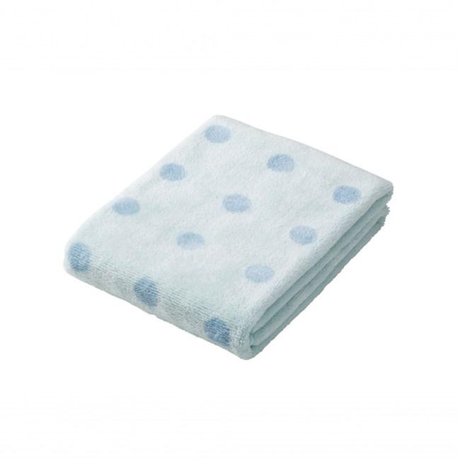 【預購】CB JAPAN 泡泡糖 點點系列超細纖維3倍吸水擦巾點點藍