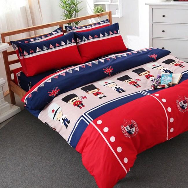 【FOCA】悅動 加大全舖棉-北歐風100%雪絨棉四件式兩用被厚包組