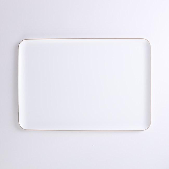 HOLA 斐諾長方形托盤39x27cm 白