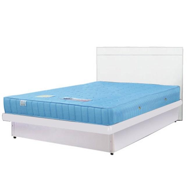 Homelike 麗緻3.5尺掀床組 單人掀床(四色可選)純白色