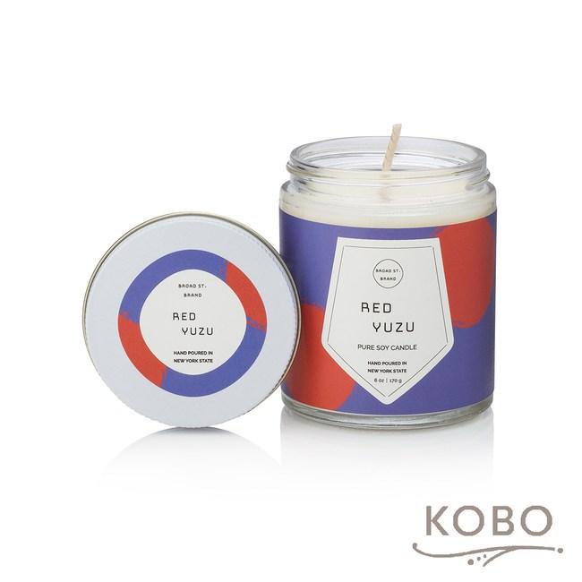 【KOBO】 美國大豆精油蠟燭-柚香玫瑰-170g/可燃燒35hr