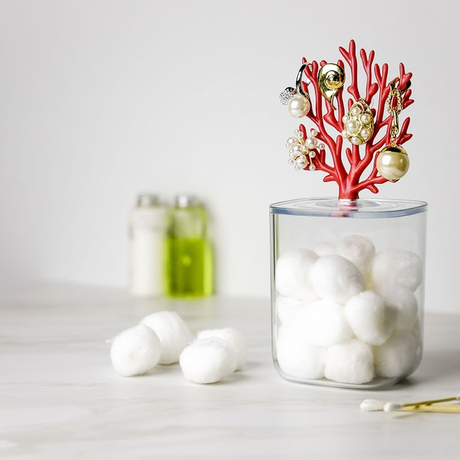 QUALY|珊瑚收納罐(紅)