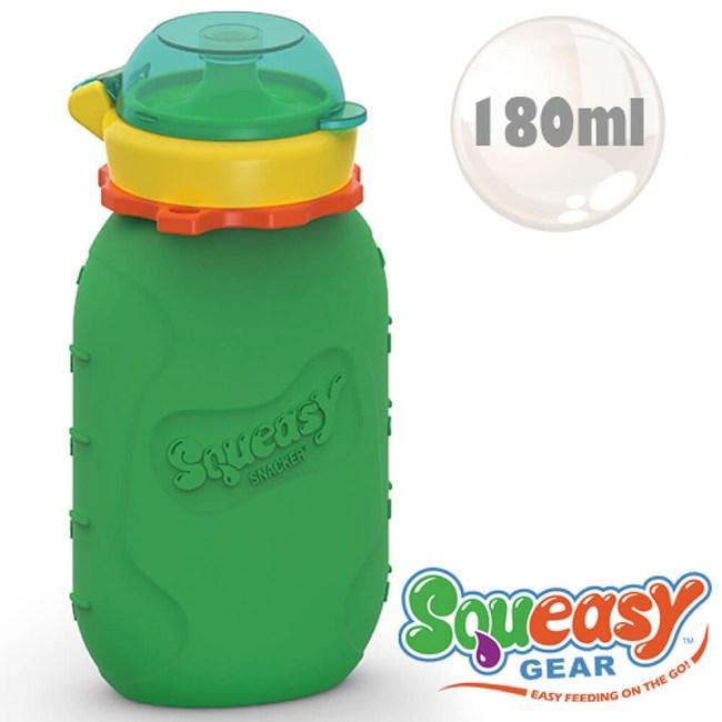 美國品牌QQ隨身瓶-180ML-綠(兒童使用)