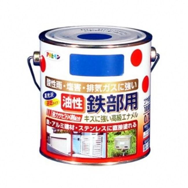 鐵製品防鏽油性面漆-白0.7L
