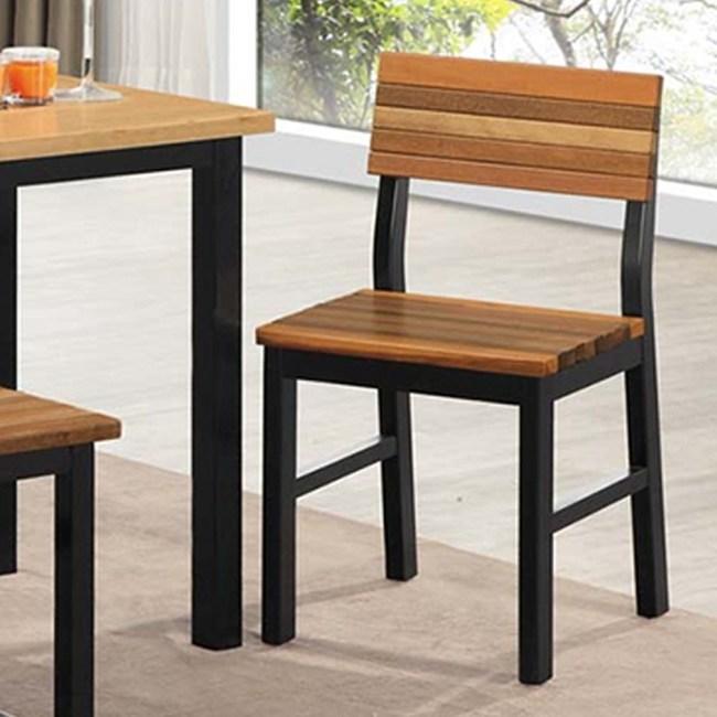 傑森實木餐椅-有椅背