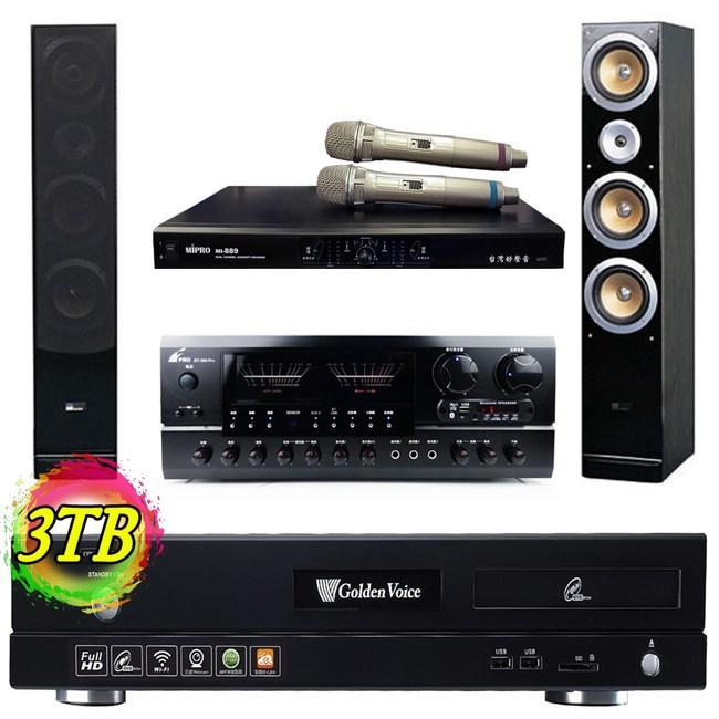 金嗓 S2+ 3TB+AK-898+MI-889+QX900F