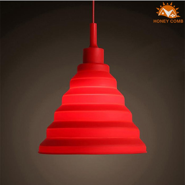 HONEY COMB 北歐風馬卡龍單吊燈KC1172紅色