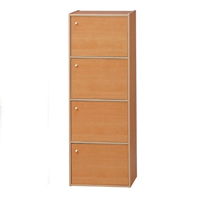 【YFS】瑞西四層門櫃-42x28.5x118cm(DIY)