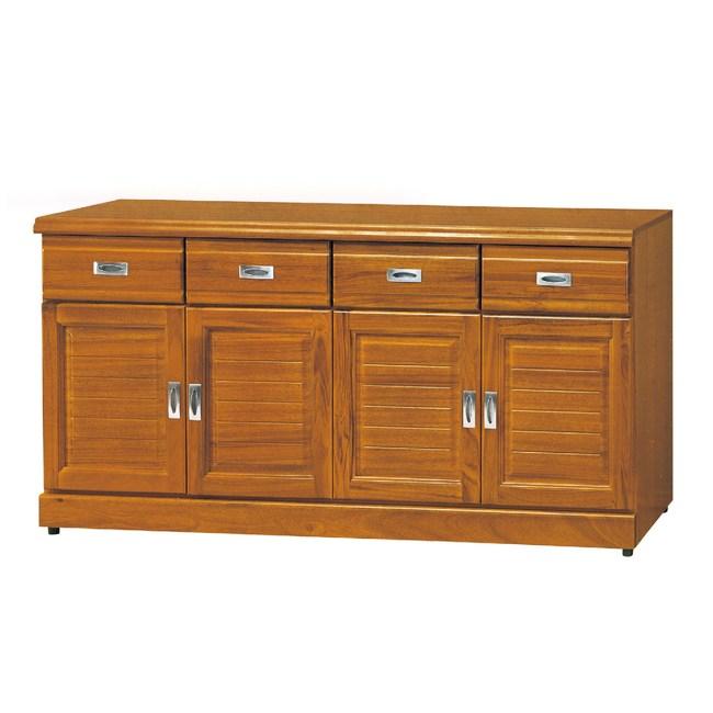 【YFS】威爾正樟木5.3尺碗盤櫃-159x45x81cm