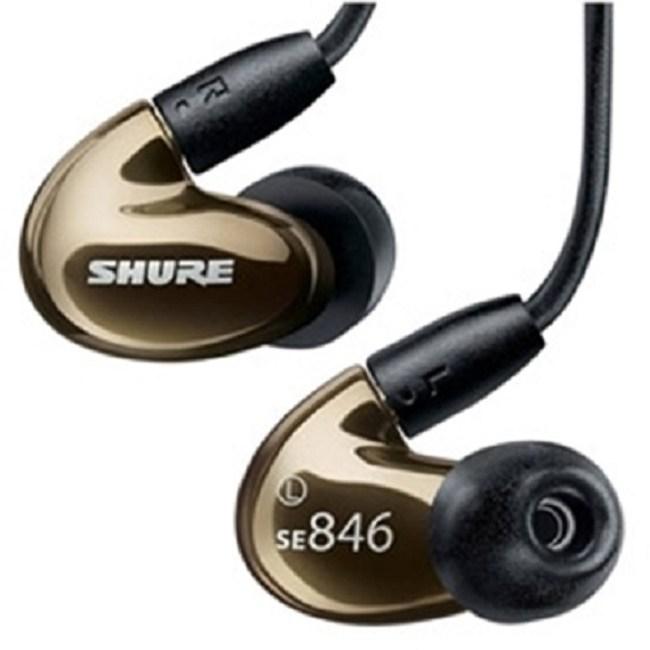 【送收納盒】SHURE SE846 金色 高解析四單體 優質高低頻 噪音隔離