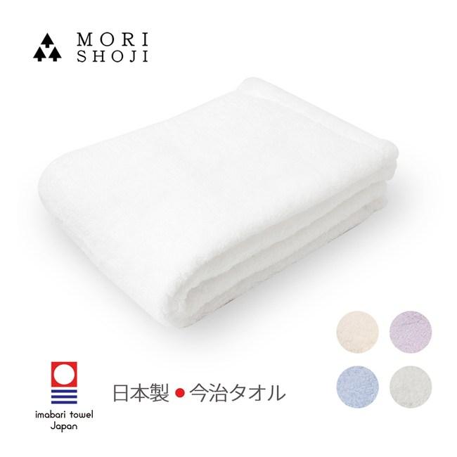 【日本森商事】白雲日製今治極上天然棉浴巾-60x120cm-5色雲柔白