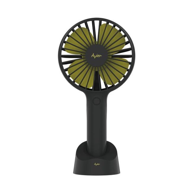 Avier COLOR MIX Hush 桌立 / 手持式風扇 共2色黑