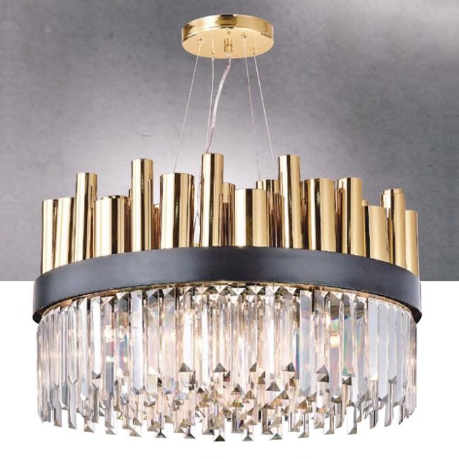【大巨光】工業風水晶燈_吊燈-中(LW-09-0113)
