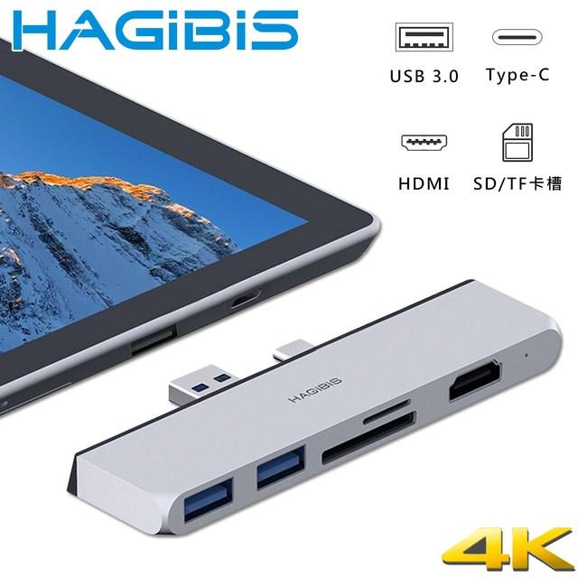 HAGiBiS Surface Pro專用供電擴充轉接器