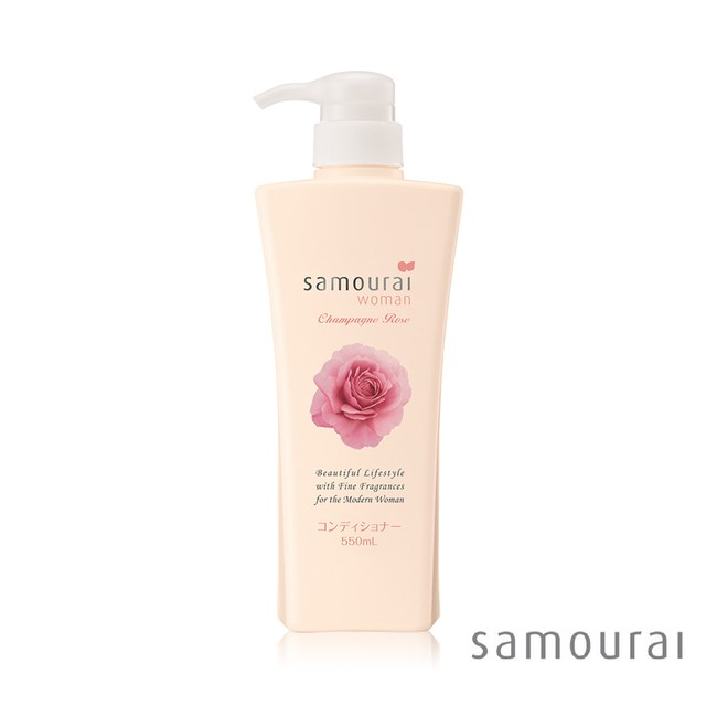Samourai香檳玫瑰潤絲精(550ml/瓶)