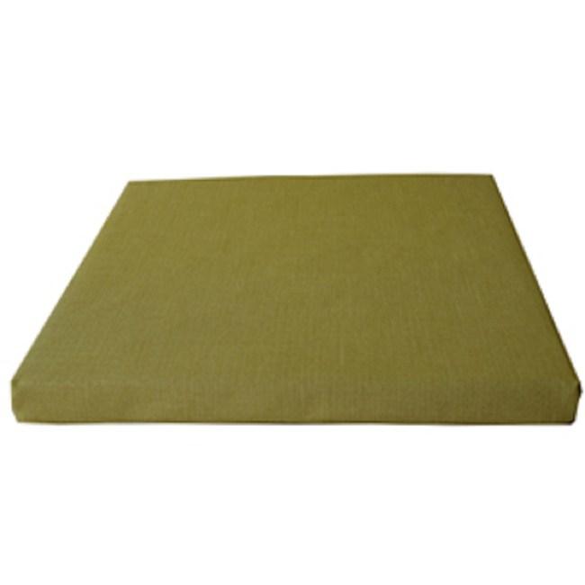 【宜欣居傢飾】亞麻綠-仿麻精緻坐墊*5入綠55*55*5cm