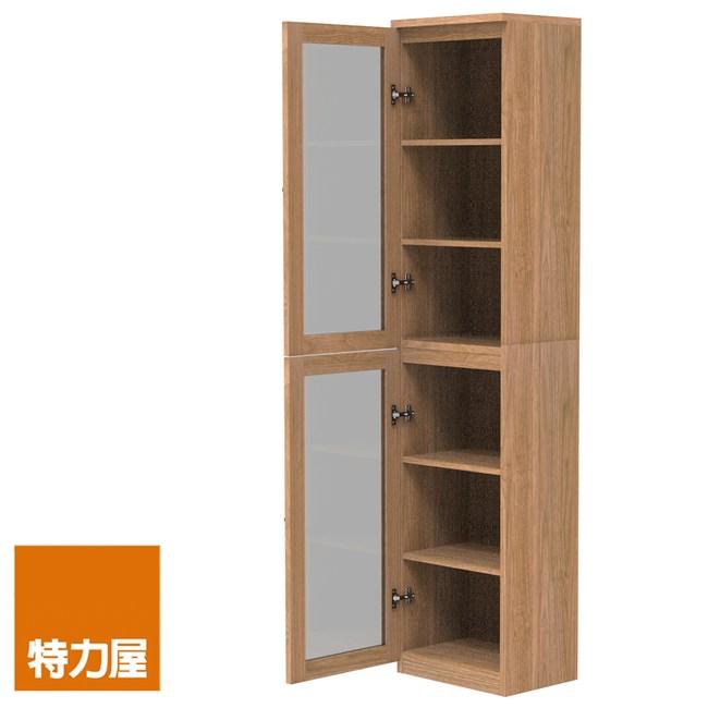 組-特力屋萊特高窄淺木櫃.淺木層板(1入x4).淺玻門(x2)