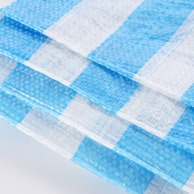 PE藍白防水帆布 12x12尺
