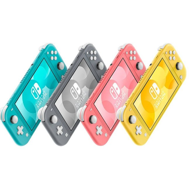 Nintendo Switch Lite 主機+專用包+鋼化貼(藍綠色)