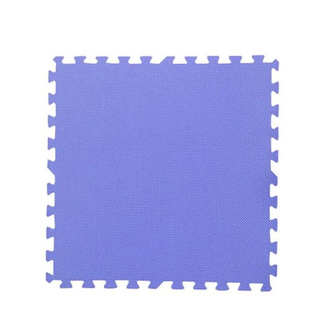 【新生活家】EVA運動安全地墊(紫色62x62x1.3cm12入)