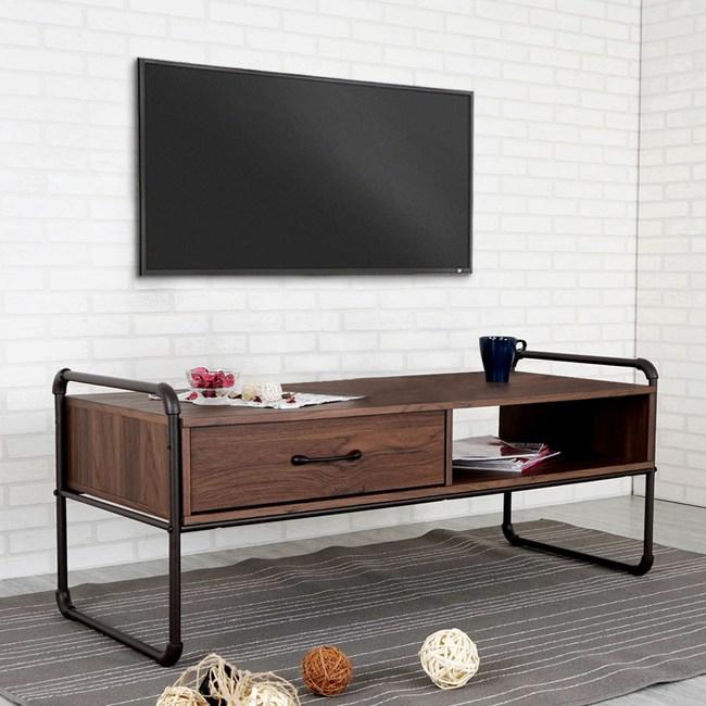 Homelike 司特工業風4尺單抽電視櫃