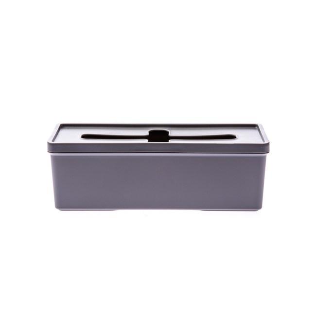 日本Inomata抽取式收納盒大-灰