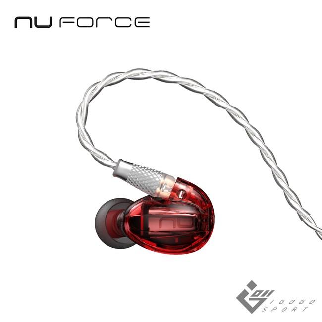 NuForce HEM1 動鐵單元監聽式耳機紅色