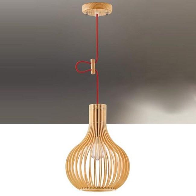 YPHOME 北歐原木單吊燈 FB12554