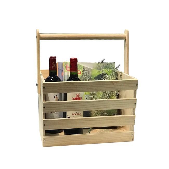 DIY材料包-手提收納置物籃(提把可收折)