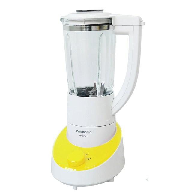 【Panasonic國際牌】1300ml玻璃杯果汁機(亮綠色) MX-XT301