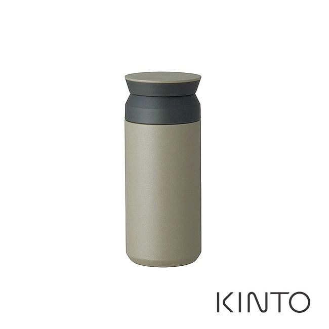 日本KINTO 隨行保溫瓶350ml-灰