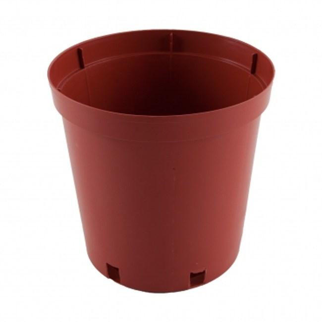 L044 8吋 栽植盆-磚紅