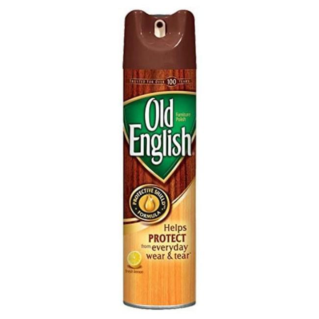 美國Old English傢俱亮光噴霧--檸檬香味(12.5oz)*3