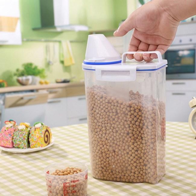 【PUSH!】廚房居家用品儲米桶加厚塑膠米桶雜糧桶I70