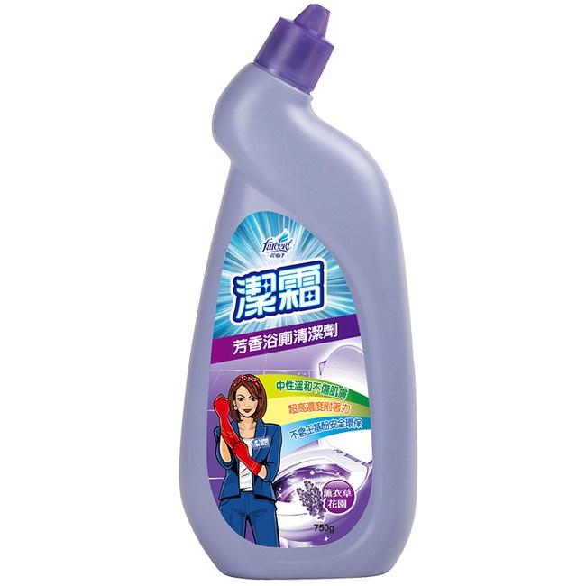 潔霜 浴廁清潔劑 薰衣草 750ML