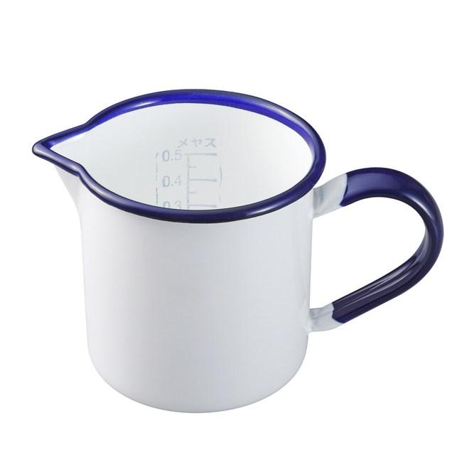 日本野田琺瑯 量杯(0.5L)