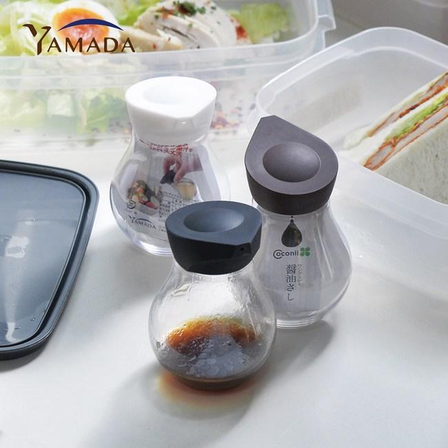 【日本山田YAMADA】按壓定量式PET醬料分裝瓶140ml-3入單一規格