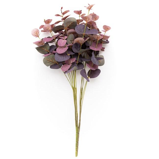 紫色尤加利束