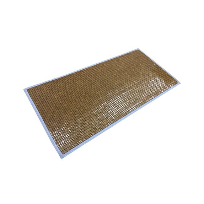 樂懿炭化麻將竹單人床蓆105x186cm 布繩
