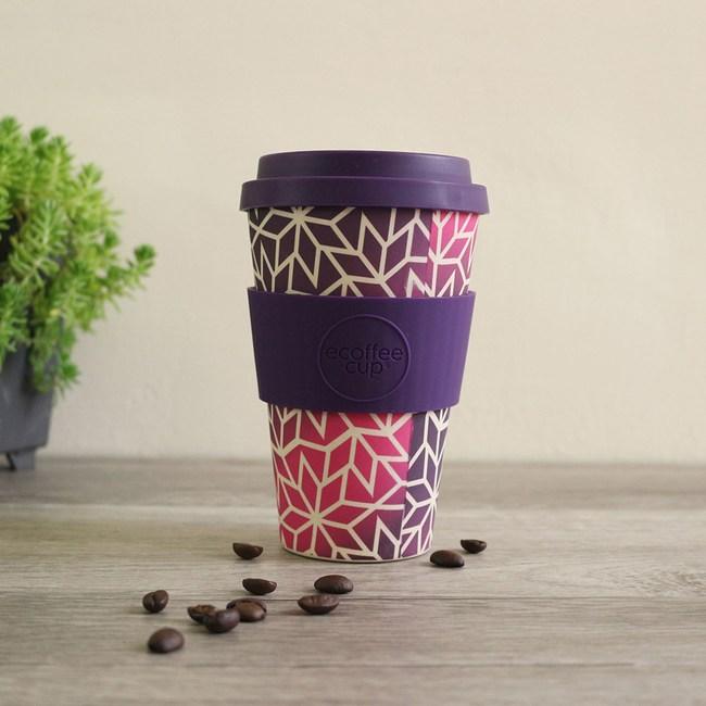 Ecoffee Cup 環保隨行杯14oz(冰晶紫)