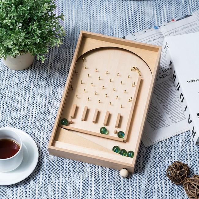 DIY材料包-木趣彈珠台(附白膠)