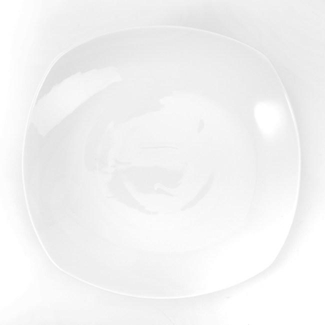 HOLA 雅堤方湯盤 24cm 可適用烤箱/微波爐/洗碗機