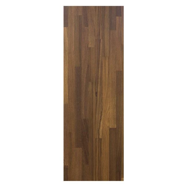美耐面E1層板120x30x1.8cm-胡桃木拼接紋